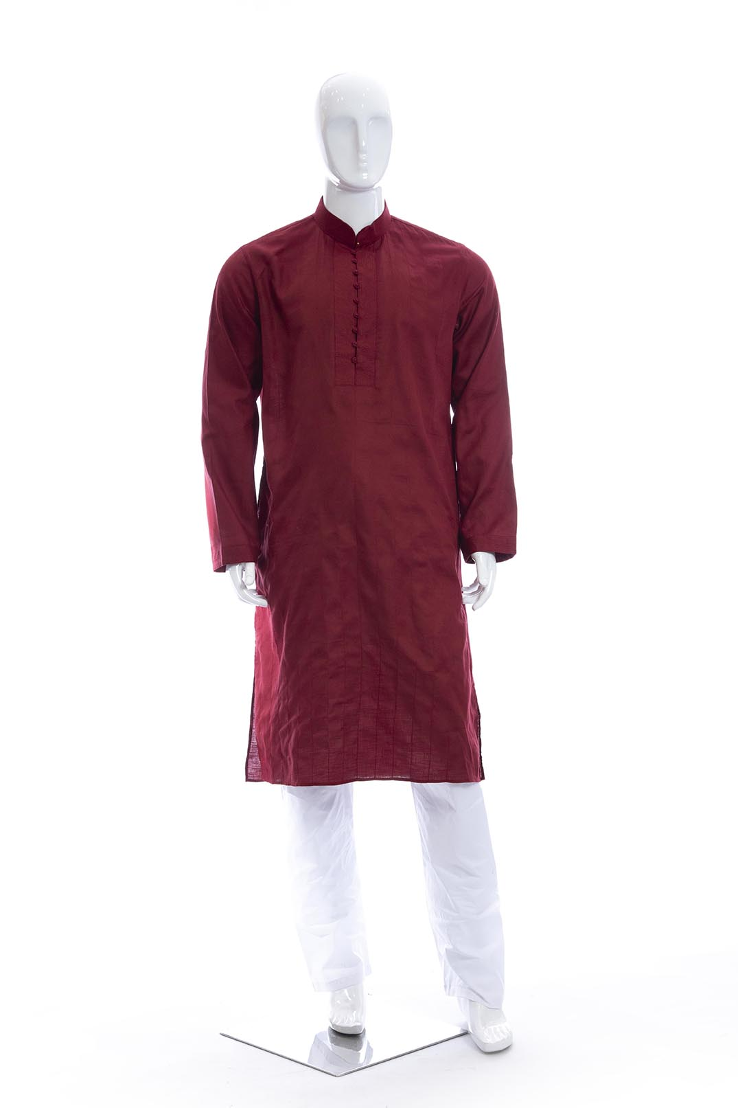 MENSWEAR-KURTA PYJAMA-COTTON