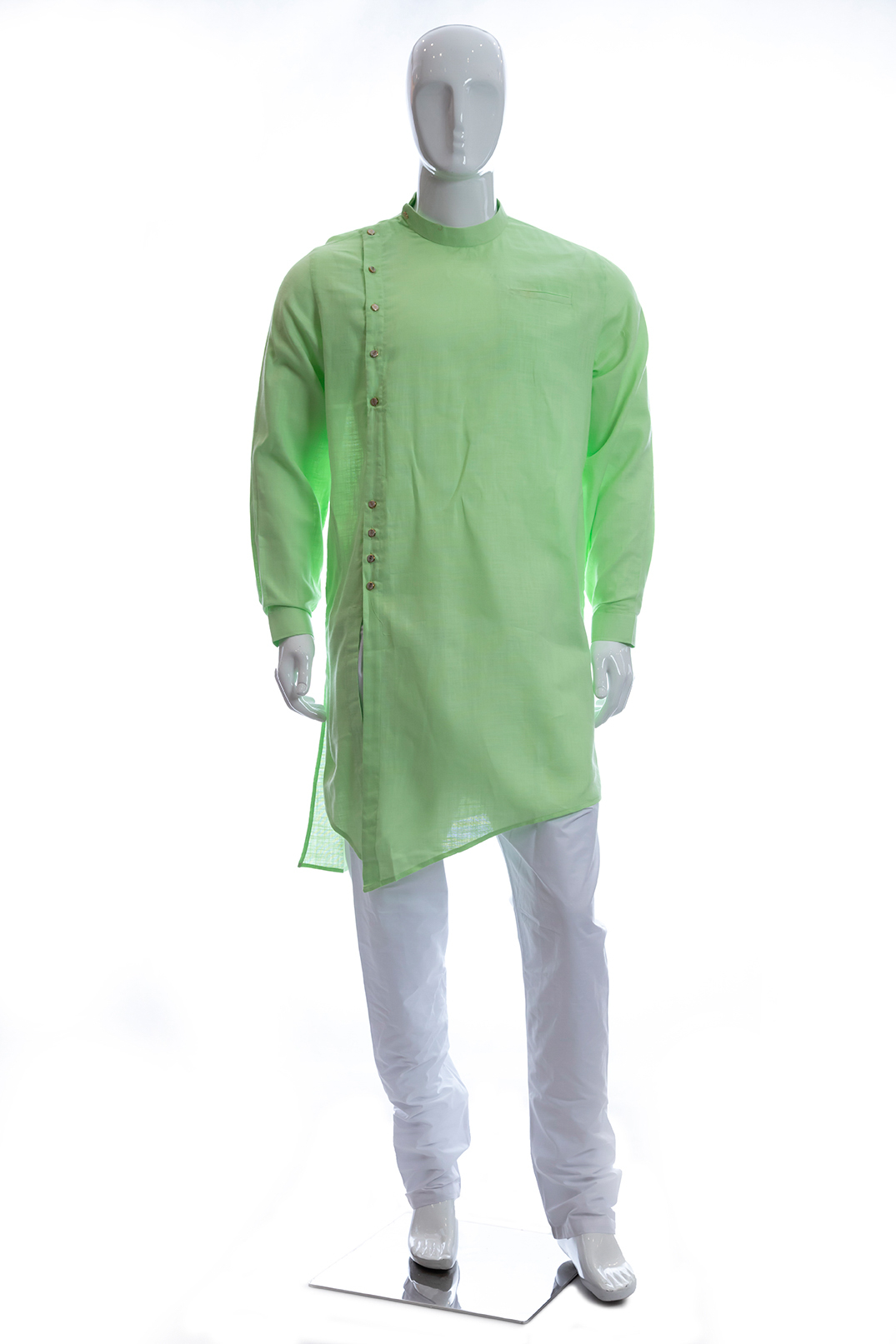 MENSWEAR-SEMI SHERWAN-COTTON