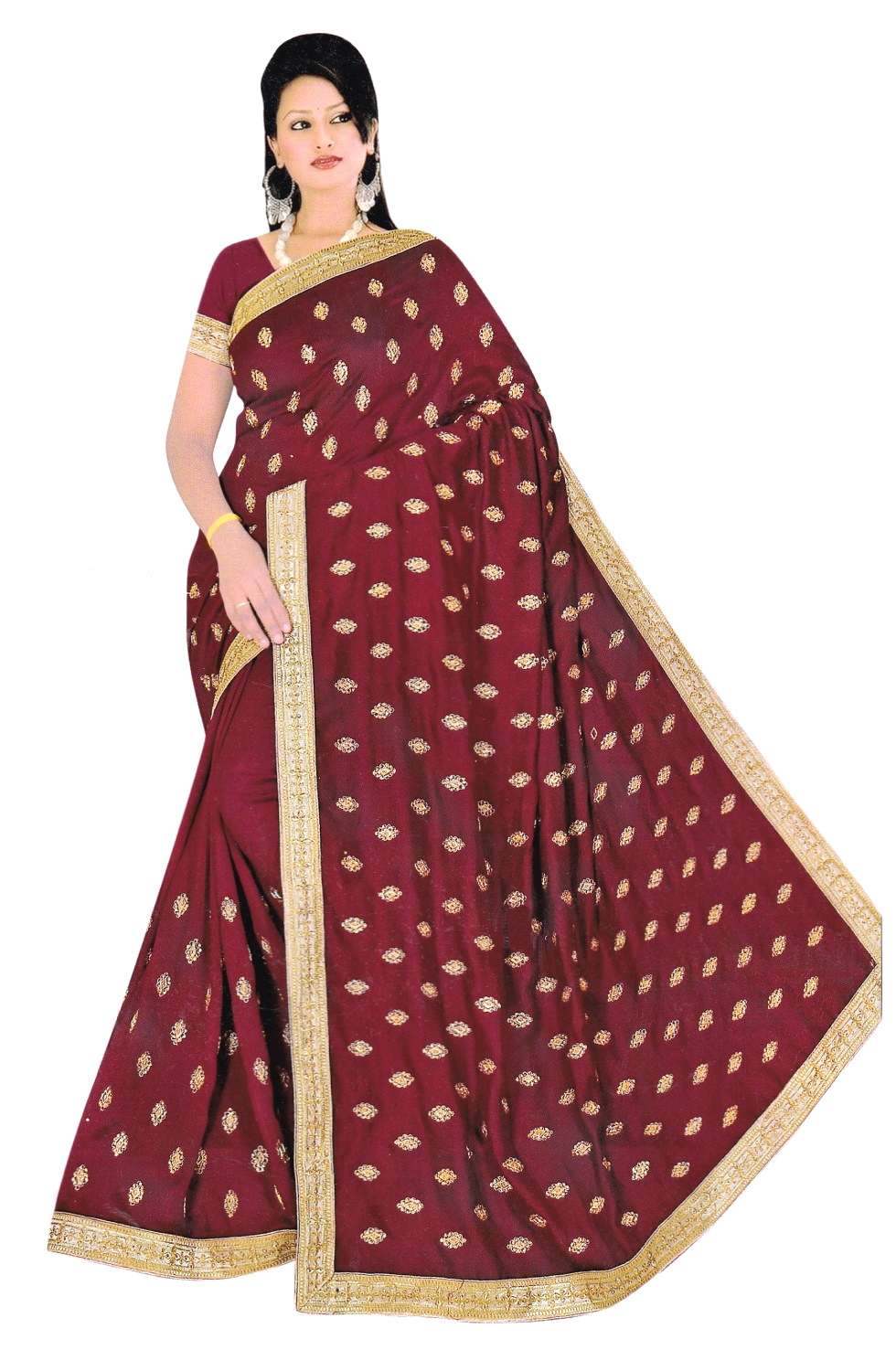 SAREE S-SILK-EMB