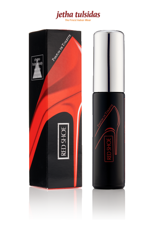 ACCESSORIES-LAD PERFUME-RED SHOE